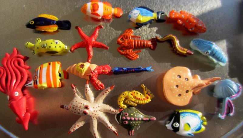 Panini Sealife animals for Susanne Img_5832