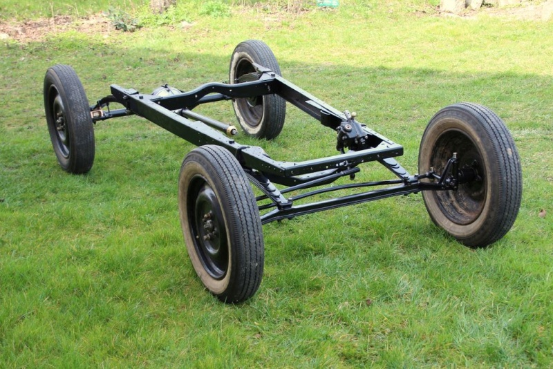Remontage du chassis Torpedo 1923 Chassi12