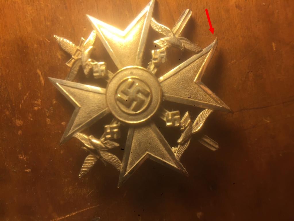 Identification authentification allemand insigne 11b11d10