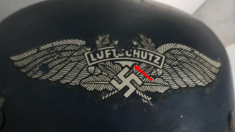 casque tchèque Luftschutz A8-c4-10