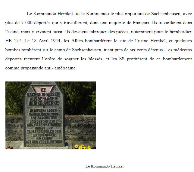 Du stalag 122 de Compiègne au camp de concentration de Sachsenhausen... Captur45