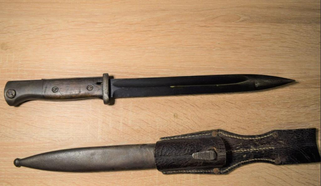 Baïonnette allemande Captur55