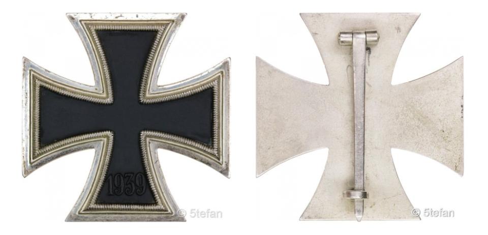 Croix de fer 1ère classe deuxième guerre mondiale Captur56