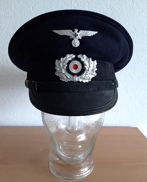 Une casquette de vétéran Allemand Captur80