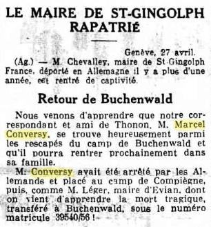 Rentrée très particulière de Buchenwald ! Gazett11