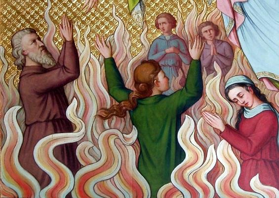Les merveilles divines dans les âmes du purgatoire 11280110