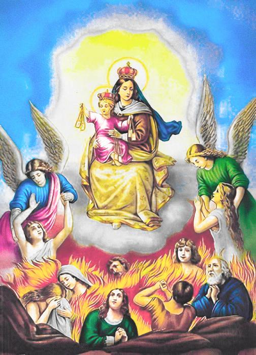 Les merveilles divines dans les âmes du purgatoire 16180710