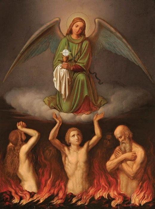 Les merveilles divines dans les âmes du purgatoire Ange_h10