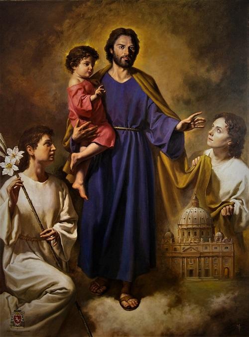 Prières et pensées à Saint Joseph chaque jour - Page 2 Anges_10