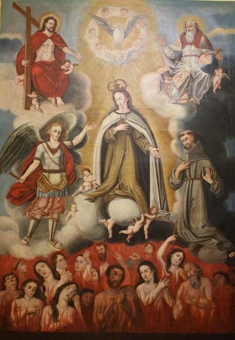 Les merveilles divines dans les âmes du purgatoire - Page 2 Eglise10