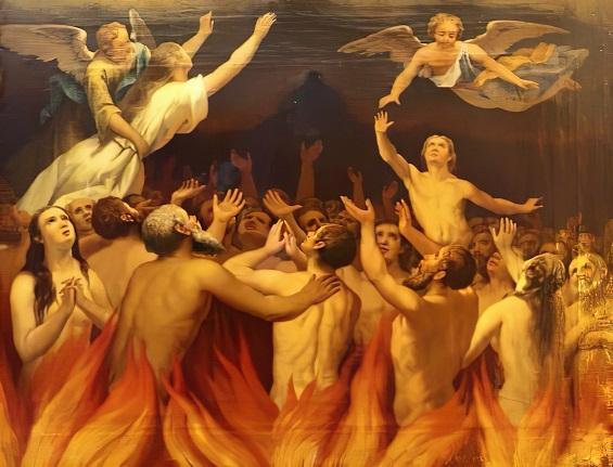 Les merveilles divines dans les âmes du purgatoire Flamme11