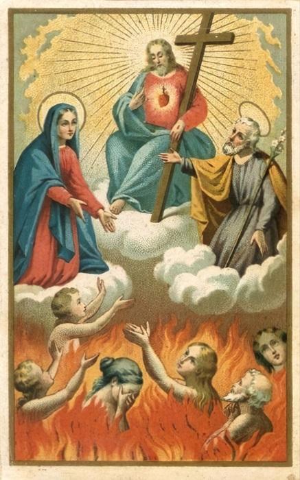 Les merveilles divines dans les âmes du purgatoire - Page 2 Flamme12