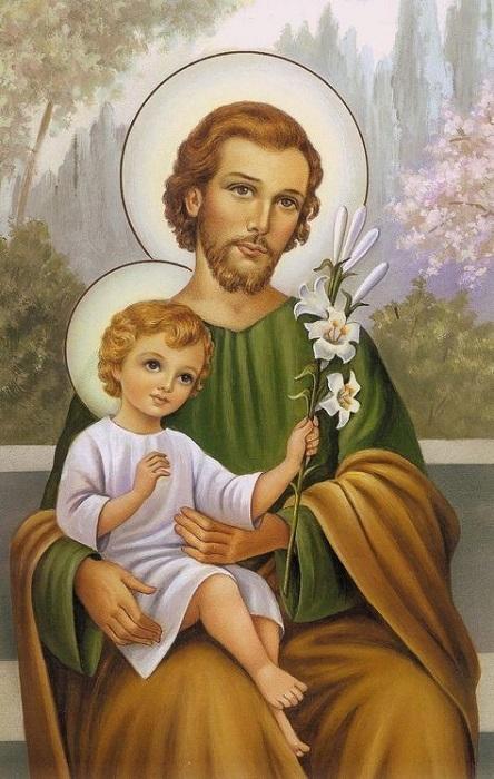 Prières et pensées à Saint Joseph chaque jour Fleur_15
