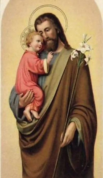 Prières et pensées à Saint Joseph chaque jour Lis_bl10