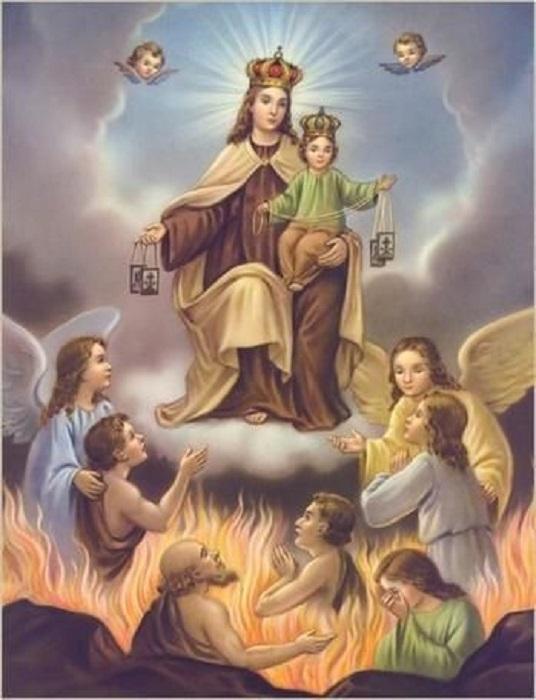 Les merveilles divines dans les âmes du purgatoire Maman_12