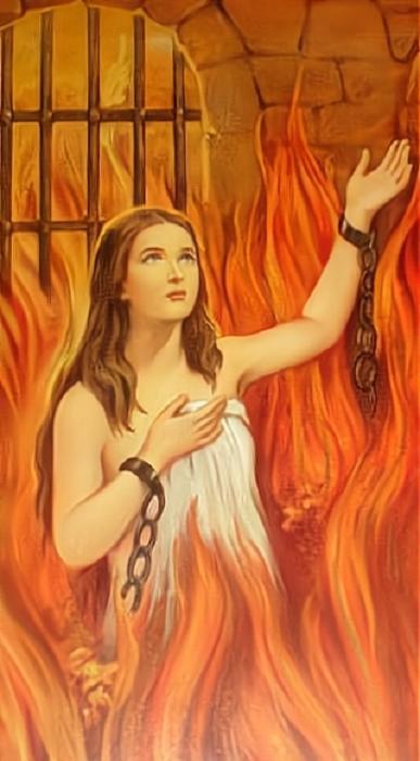 Les merveilles divines dans les âmes du purgatoire Prison10