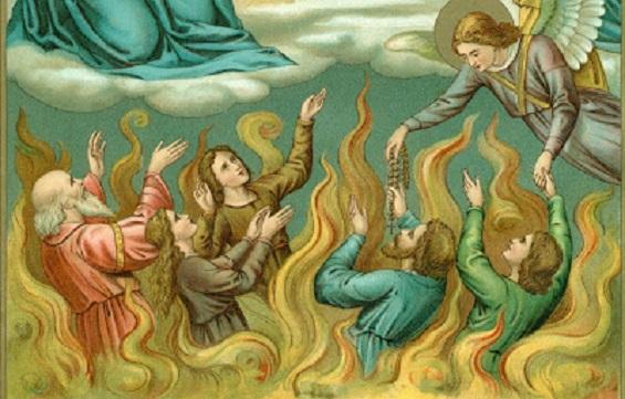 Les merveilles divines dans les âmes du purgatoire Purgat91