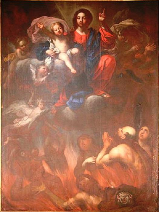 Les merveilles divines dans les âmes du purgatoire Purgat95