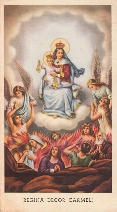 Les merveilles divines dans les âmes du purgatoire - Page 2 Regina10