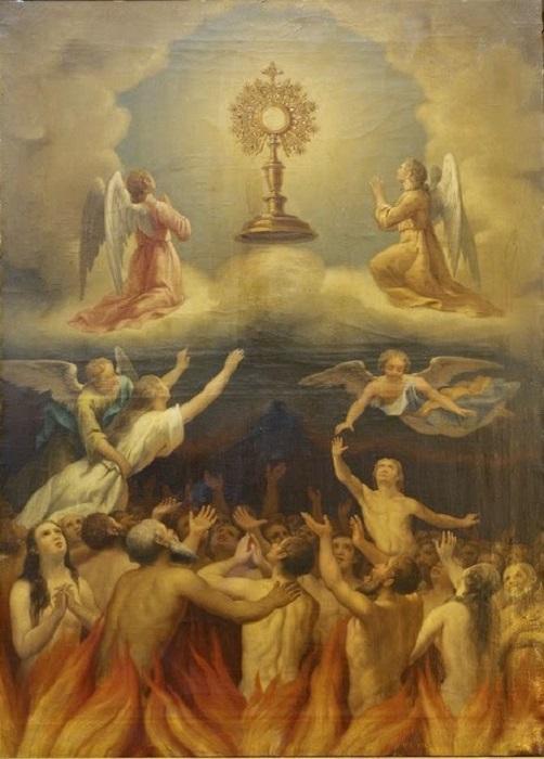Les merveilles divines dans les âmes du purgatoire - Page 2 Saint_60