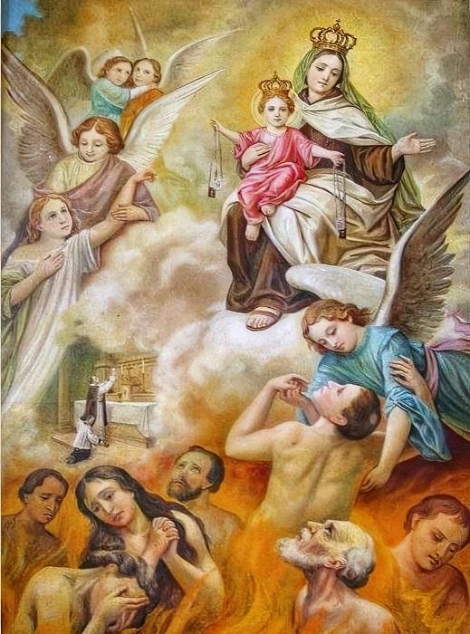 Les merveilles divines dans les âmes du purgatoire - Page 2 Scapul12