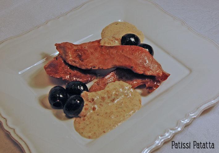 Aiguillettes de canard, sauce au pain d'épices Aig-ca10