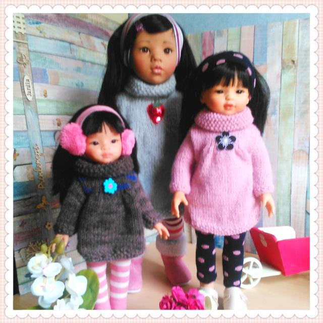 quelques unes de mes poupées Portab17