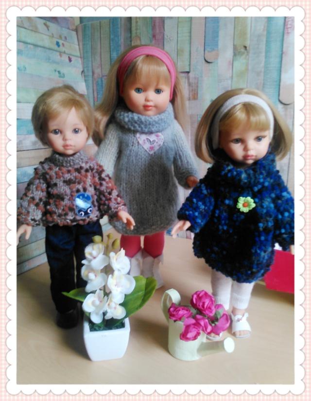 quelques unes de mes poupées Portab18