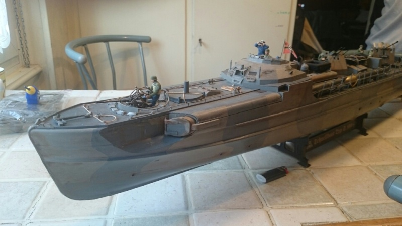 Schnellboot ITALERI 1/35 transformé RC Mms_2012