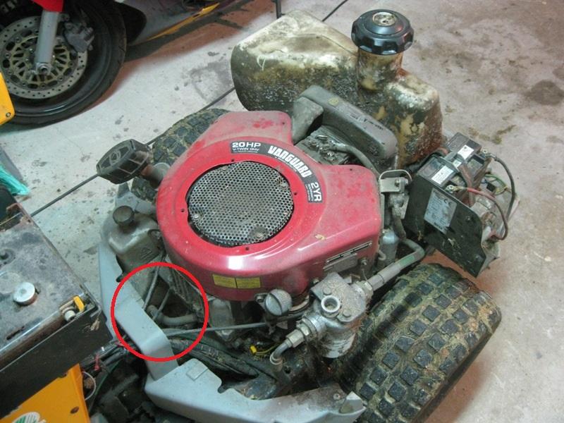 Entretien Stiga Park Pro 4WD 20 Img_9616