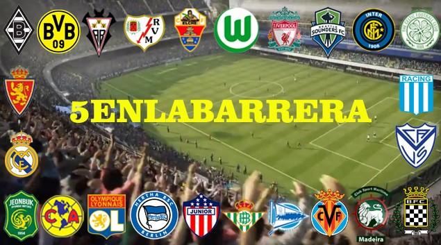 Liga Online FIFA 15 PS4