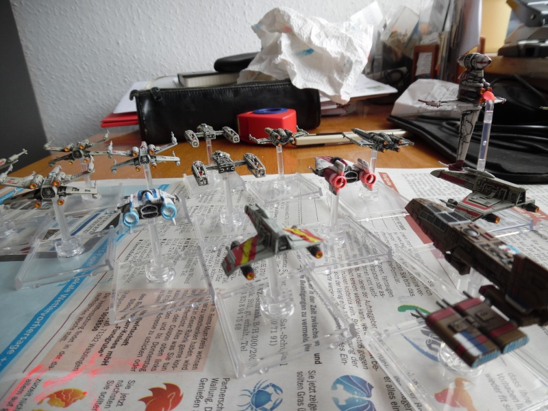 fuexxles X-Wing Euro-Korps ist (fast) vollständig Rebell10