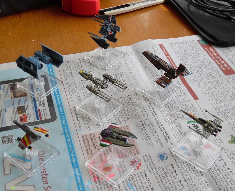 fuexxles X-Wing Euro-Korps ist (fast) vollständig X-wing10