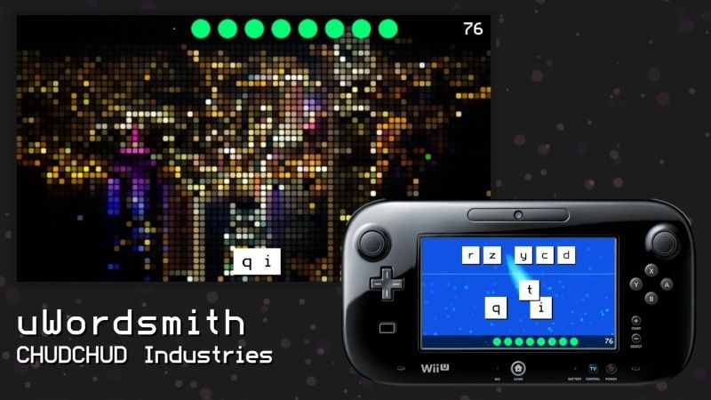 Review: uWordsmith (Wii U eShop) Mosaic10
