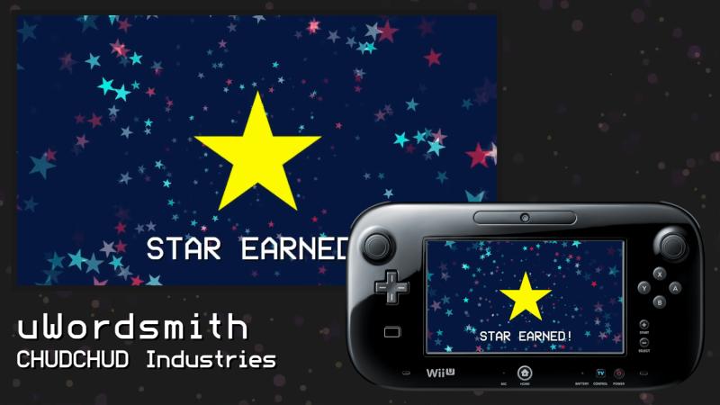 Review: uWordsmith (Wii U eShop) Star-e10