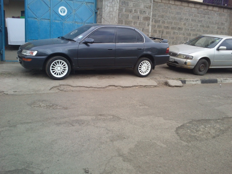 GB's Corolla AE100 SE Limited from Kenya  Mybuil33