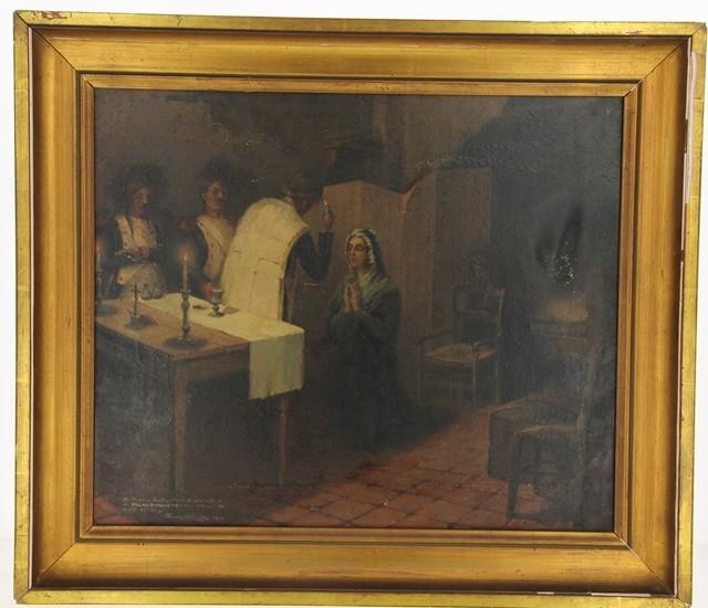 A vendre: tableaux Marie-Antoinette, Versailles et XVIIIe siècle 14292710