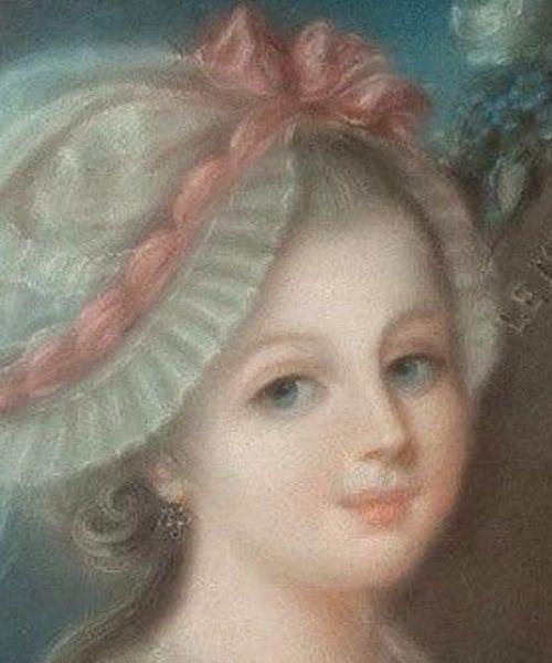 A vendre: Pastel représentant les Enfants dessinant le Roi Louis XVI Tylych15