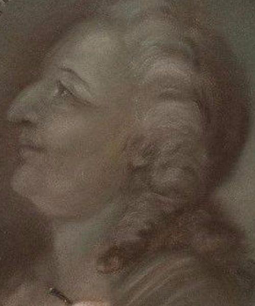A vendre: Pastel représentant les Enfants dessinant le Roi Louis XVI Tylych18