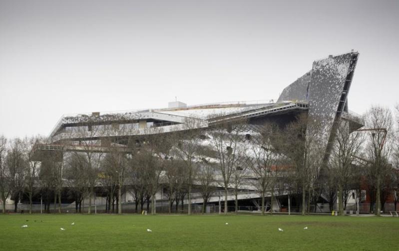 A new concert hall in Paris : the Philharmony by Jean Nouvel Paris-13