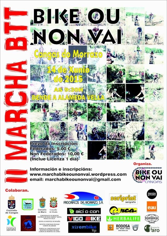 II Marcha Bike ou non Vai 14 de Xuño 2015 Marcha11