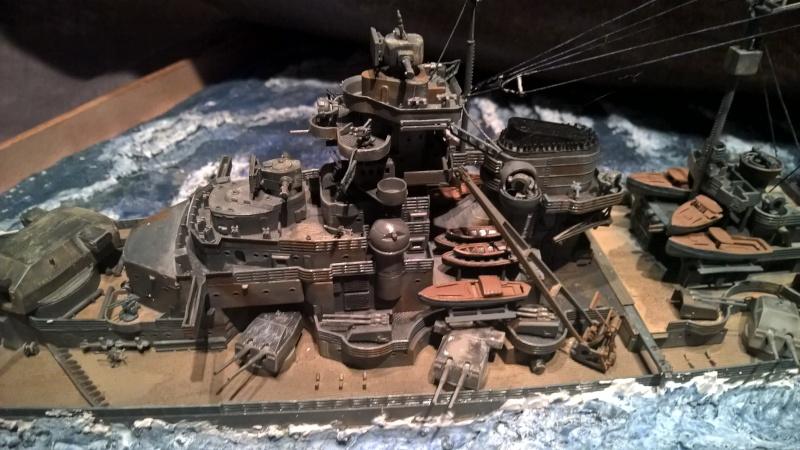 Bismarck 1/350 de chez revell (ma première de A-Z) Wp_20119