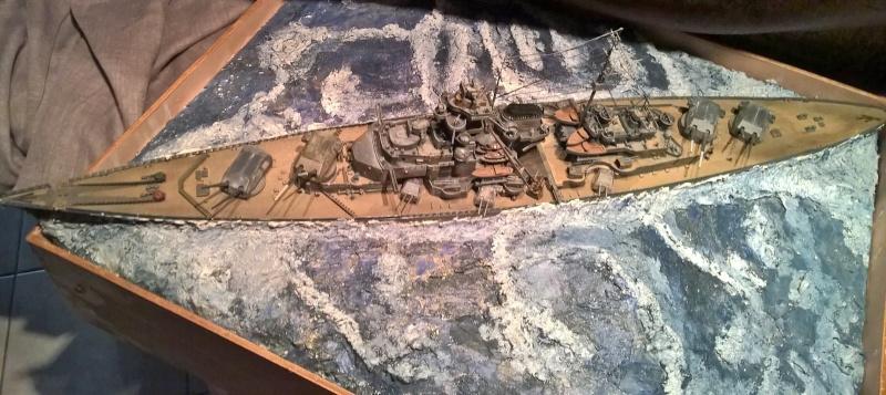 Bismarck 1/350 de chez revell (ma première de A-Z) Wp_20122