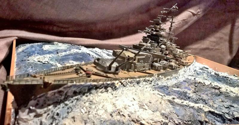 Bismarck 1/350 de chez revell (ma première de A-Z) Wp_20123