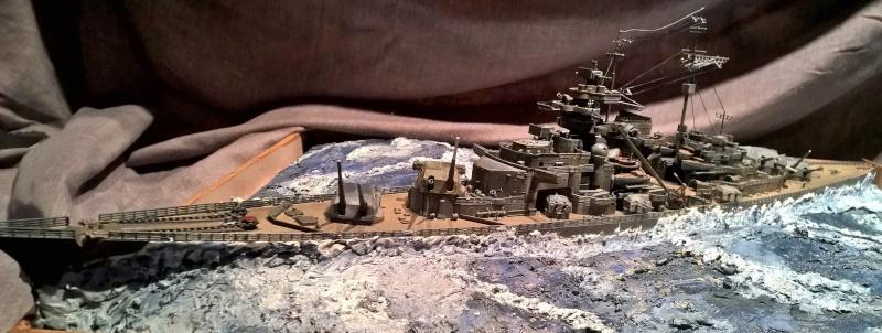 Bismarck 1/350 de chez revell (ma première de A-Z) Wp_20124