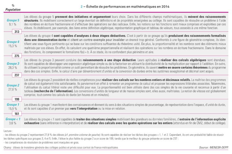 Mathématiques : le niveau des collégiens français a reculé   - Page 5 Depp-n11