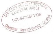 divers griffes et cachets administratif Toulon11