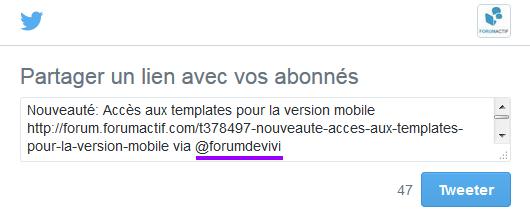 """Le bouton """"Tweet"""" de Twitter 20-05-18"""