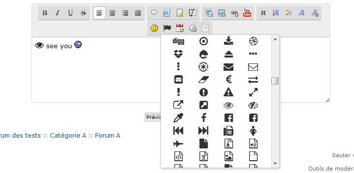 Ajouter un bouton Font Awesome sur l'éditeur Fasce110
