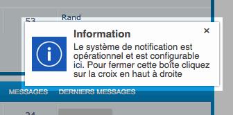 Système d'alerte en temps réel Wv2uf310